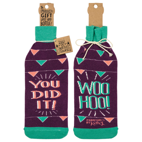 Bottle Sock - You Did It - The Flying Owl
