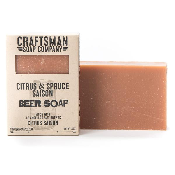 Citrus & Spruce Saison Soap - The Flying Owl
