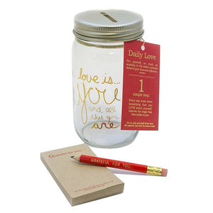 Gratitude Jar - Daily Love Notes Tool Kit - The Flying Owl