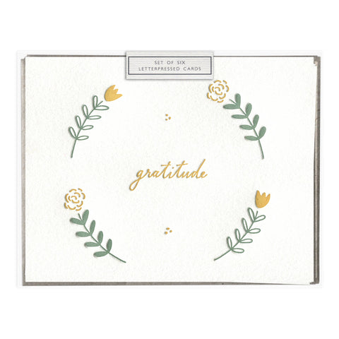 Floral Gratitude - Boxed Set of Six