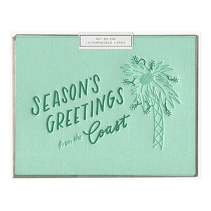 Boxed Cards - Coastal Season's Greetings - The Flying Owl