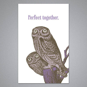 Perfect Together Owls