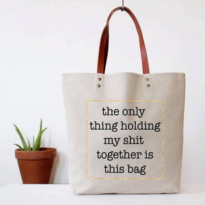 Tote Bag - Shit Together - The Flying Owl