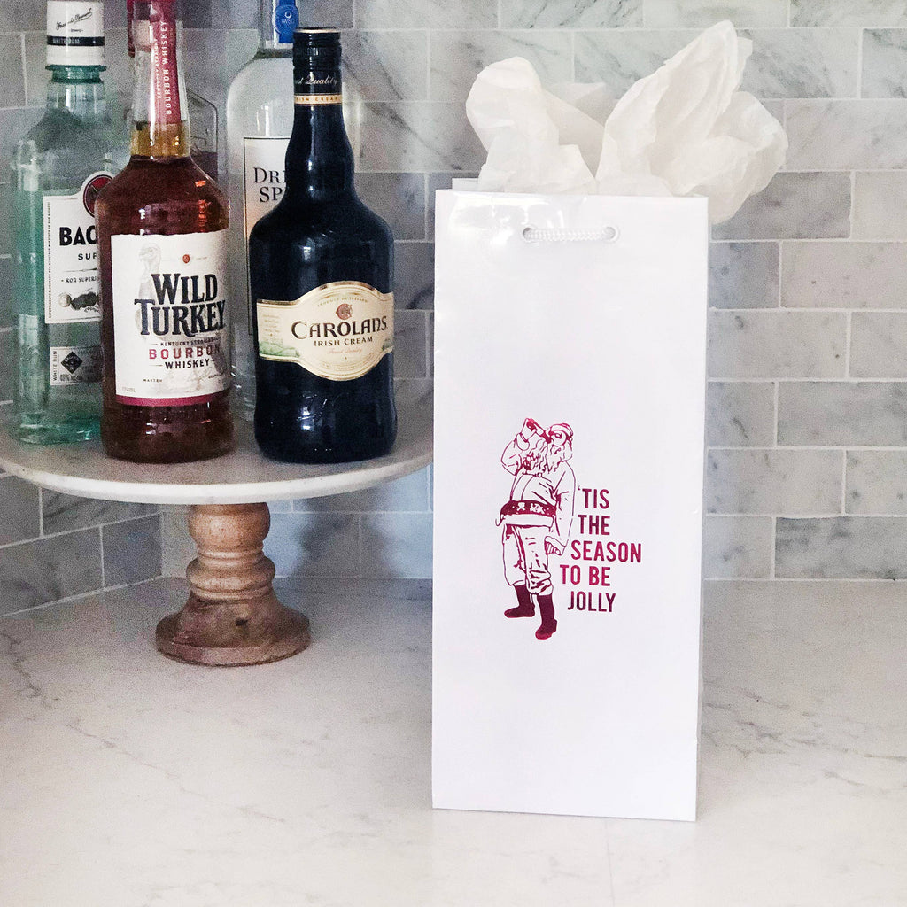Wine Bag - Tis The Season - The Flying Owl