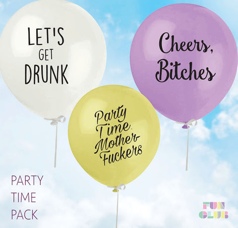 Balloons - Let's Get Drunk - The Flying Owl