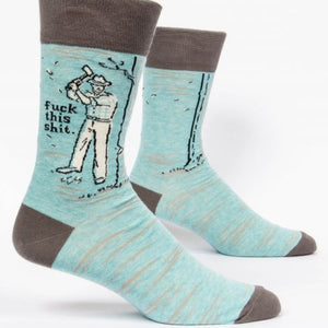 Men's Socks - Fuck This Shit - The Flying Owl