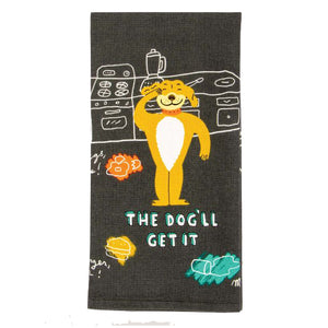 Dish Towel - The Dog'll Get It - The Flying Owl