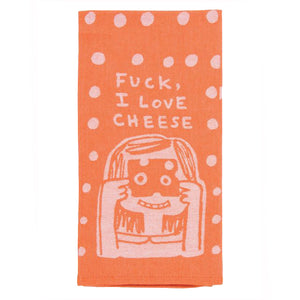 Dish Towel - Fuck, I Love Cheese - The Flying Owl