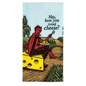 Dish Towel - Have You Had Cheese? - The Flying Owl