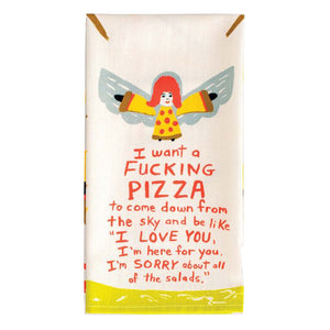 Dish Towel - Fucking Pizza - The Flying Owl
