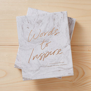 A Notecard Kit - Words To Inspire