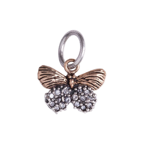 Butterfly Charm - The Flying Owl