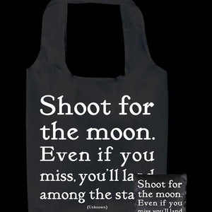 Tote Bag - Shoot for the Moon - The Flying Owl