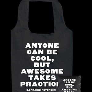 Tote Bag - Anyone can be Cool - The Flying Owl
