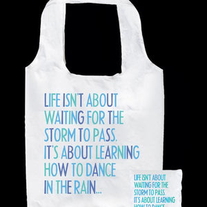 Tote Bag - Life isn't about... - The Flying Owl