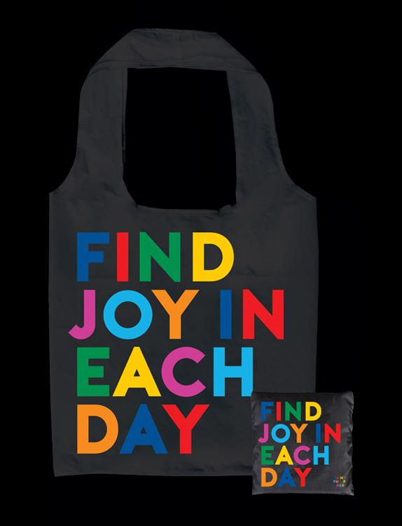 Tote Bag - Find Joy in Each Day - The Flying Owl