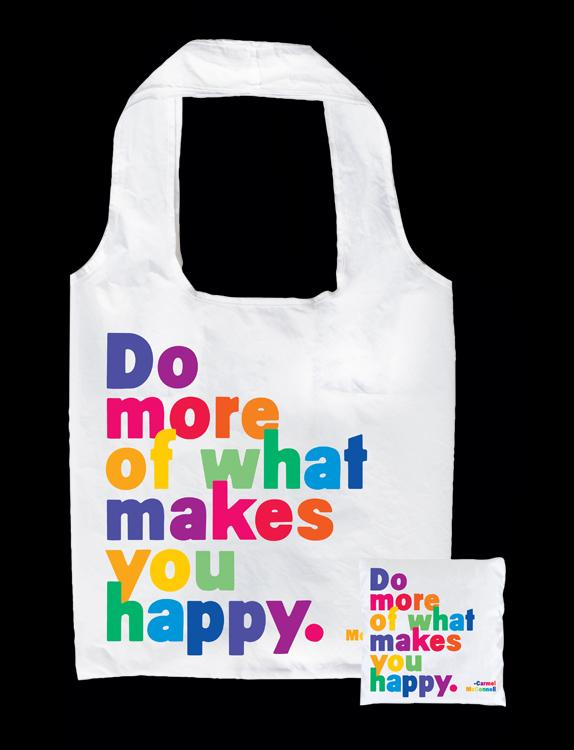 Tote Bag - Do more of what makes you happy. - The Flying Owl
