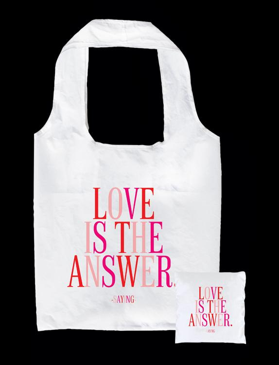 Tote Bag - Love is the Answer - The Flying Owl