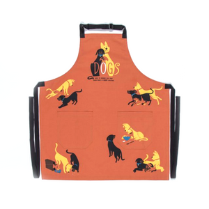 Apron - Dogs Are Here to Remind You - The Flying Owl