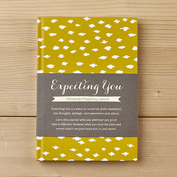Expecting You: A Keepsake Pregnancy Journal - The Flying Owl