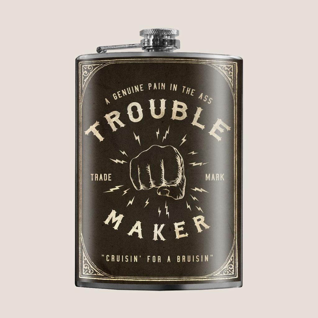 Flask - Trouble Maker - The Flying Owl
