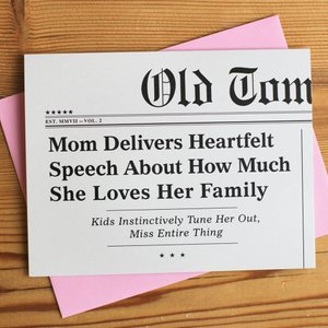 Mom Delivers Heartfelt Speech