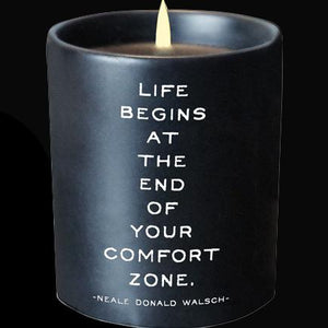 Candle - Comfort Zone - The Flying Owl