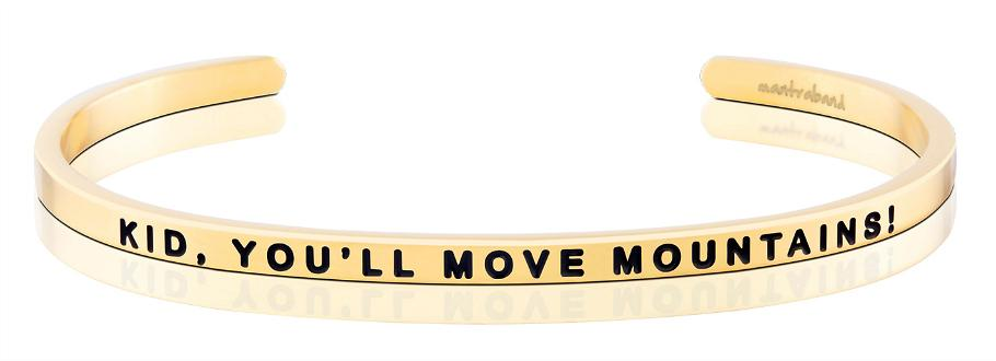 Bracelet - Mantra Band Kid, You'll Move Mountains - The Flying Owl