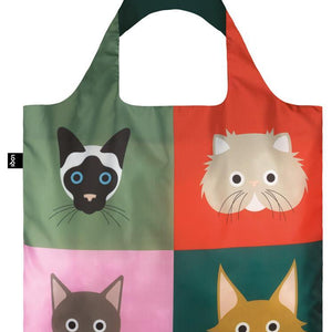 Tote Bag - Cats - The Flying Owl