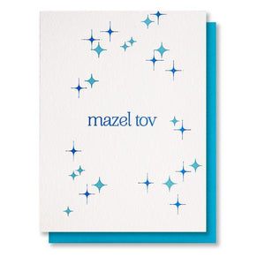 Mazel Tov Card - The Flying Owl