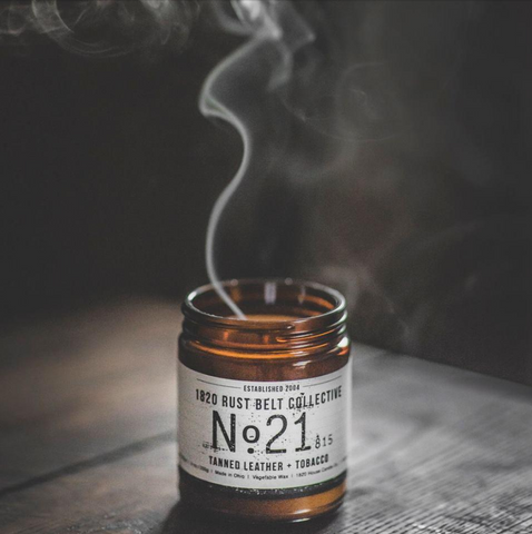 1820 Rust Belt Collective - no. 21 tanned leather + tobacco