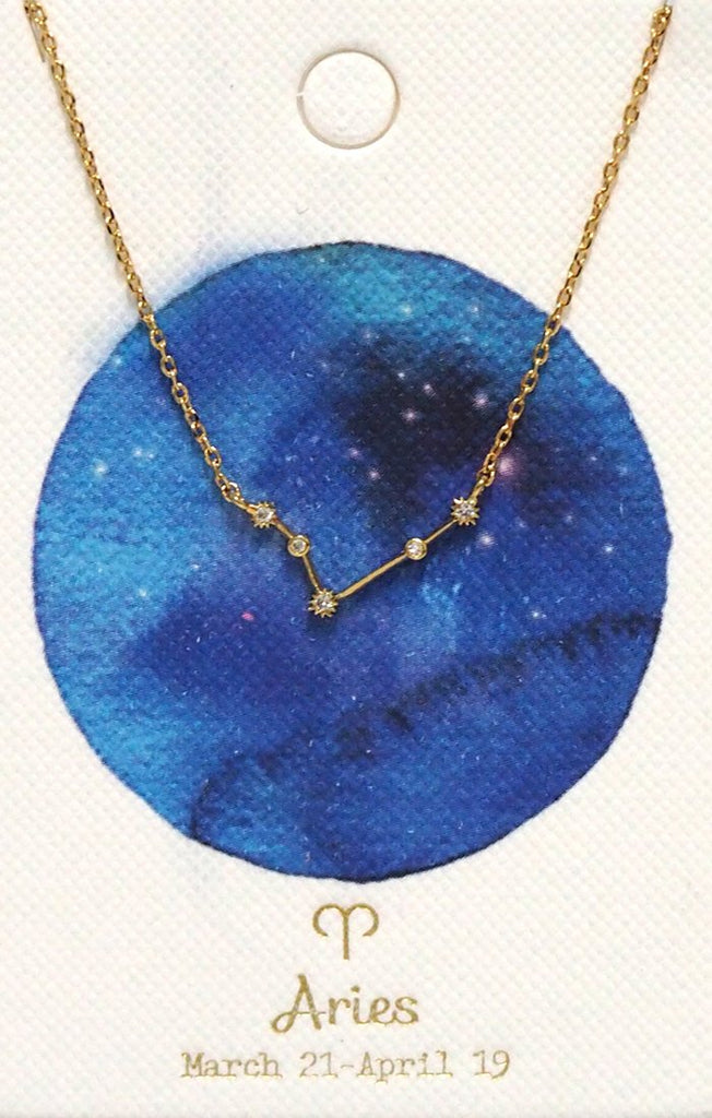 Necklace - Tai - Horoscope Aries - The Flying Owl