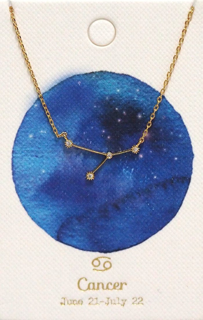 Necklace - Tai - Horoscope Cancer - The Flying Owl