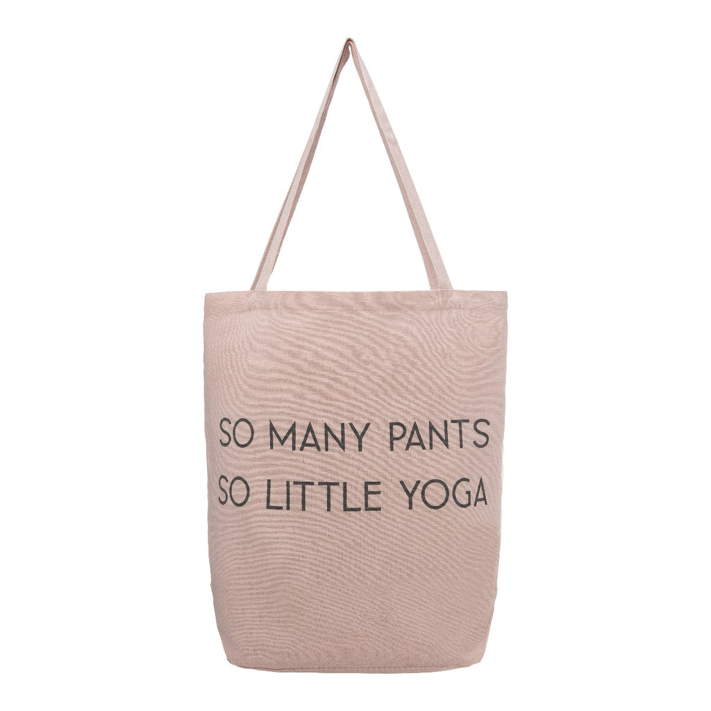 Tote Bag - So Many Pants, So Little Yoga - The Flying Owl