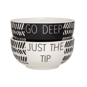 Bowls - Go Deep + Just the Tip - The Flying Owl