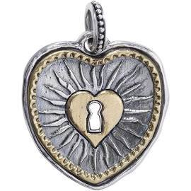 Heart Pendant with Keyhole