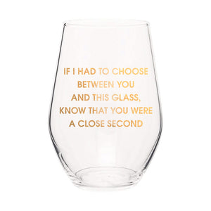 Wine Glass - Close Second - The Flying Owl
