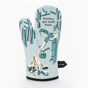 Oven Mitt - Bitches Get Stuff Done - The Flying Owl