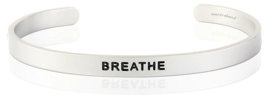 Bracelet - Mantra Band Men's- Breathe - The Flying Owl