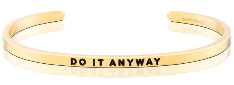 Bracelet - Mantra Band Do It Anyway - The Flying Owl