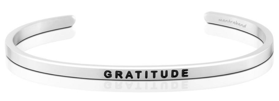 Bracelet - Mantra Band Gratitude - The Flying Owl