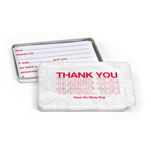 Carded - A Thank You on the Go - The Flying Owl