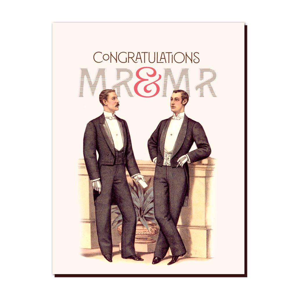 Congratulations Mr. & Mr. - The Flying Owl