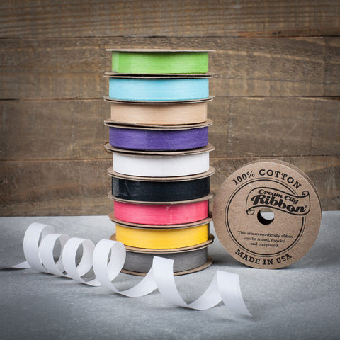 Cream City 100% Cotton Ribbon - The Flying Owl