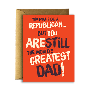 World's Greatest Republican Dad - The Flying Owl