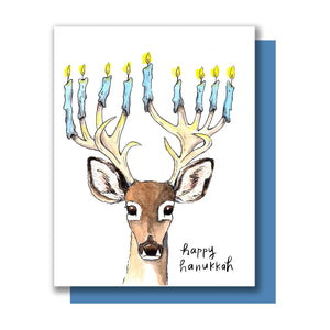 Boxed Cards - Hanukkah Deer - The Flying Owl