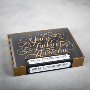 Boxed Cards - Fucking Awesome - The Flying Owl