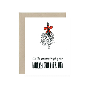 Boxed Cards - Holly Jollies On - The Flying Owl
