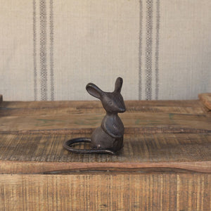 Cast Iron Listening Mouse - The Flying Owl