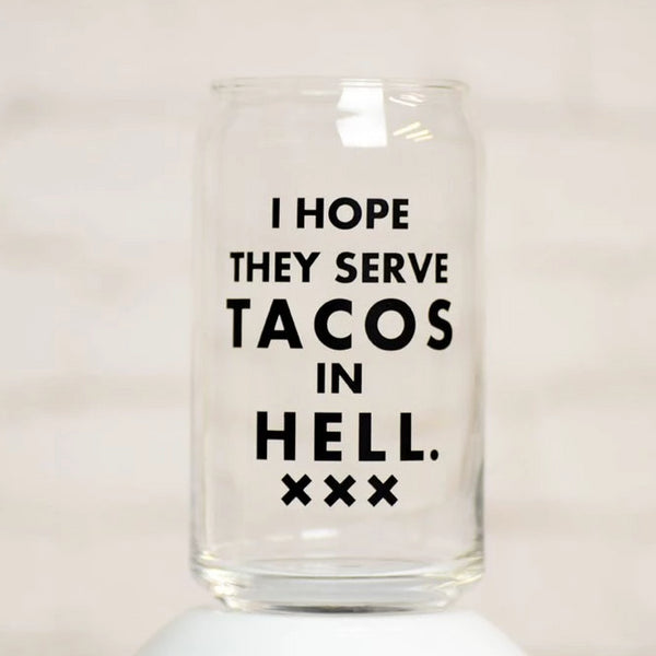 Glass - I Hope They Serve Tacos
